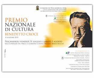 Premio Nazionale di Cultura – Benedetto Croce