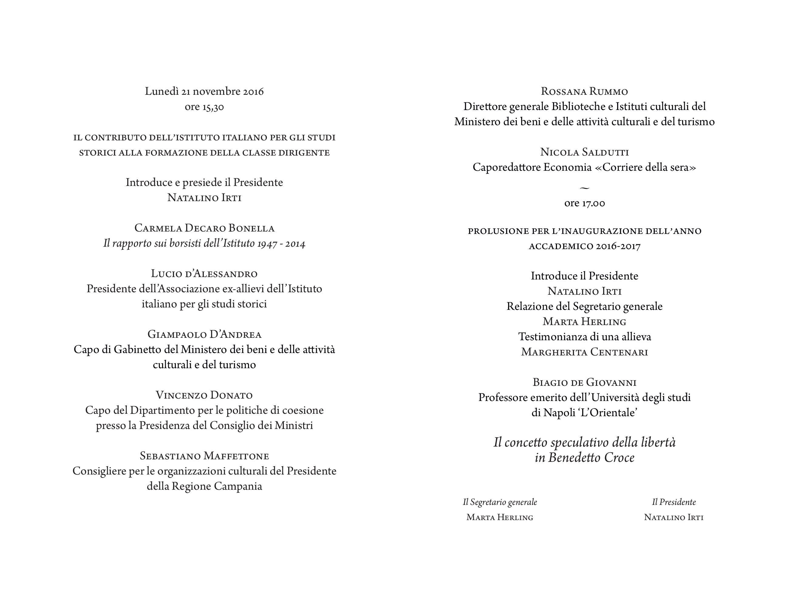 Inaugurazione dellanno accademico 2016 – 2017 nel 150° anniversario ...
