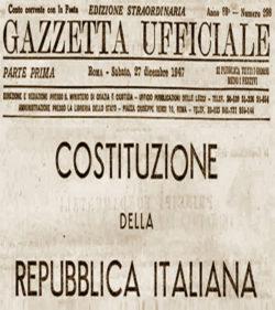 Seminario di Vincenzo Cerulli Irelli – Profilo costituzionale dell'Italia unita