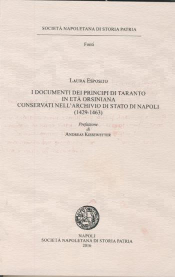 I documenti dei principi di Taranto