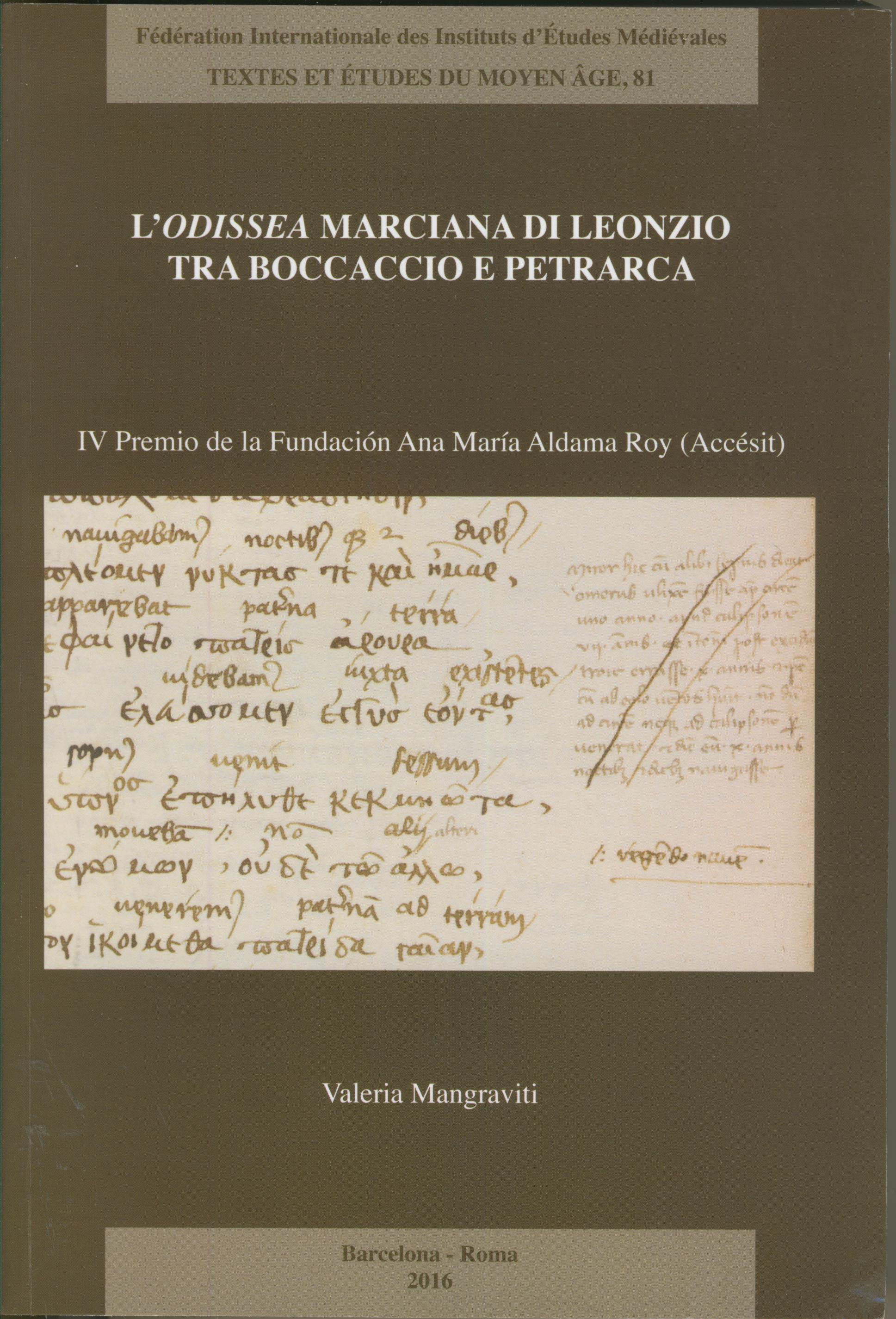 L'Odissea marciana di Leonzio tra Boccaccio e Petrarca