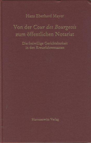 Von der Cour des Bourgeois zum öffentlichen Notariat