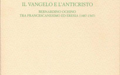 """Venerdì 11 dicembre alle 16 presentazione online del libro di Michele Camaioni """"Il Vangelo e l'Anticristo"""""""