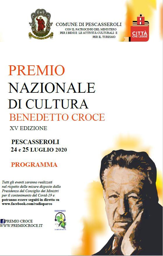 A Remo Bodei il Premio Croce alla memoria (Pescasseroli, 24-25 luglio)