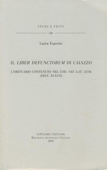 Il Liber defunctorum di Caiazzo