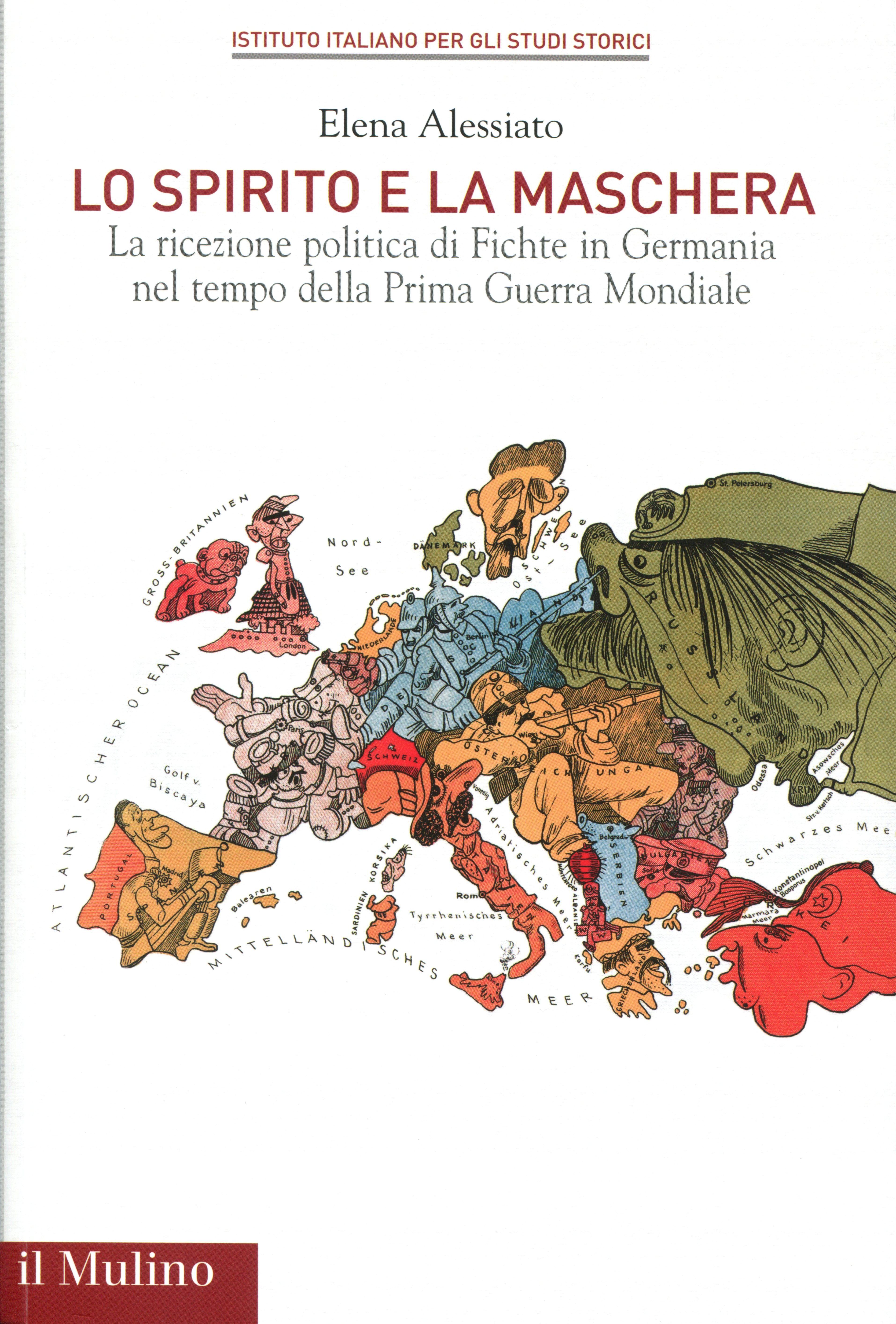 """Pubblicazione del volume di E. Alessiato, La ricezione politica di Fichte in Germania, nella collana """"Saggi"""" dell'Istituto"""
