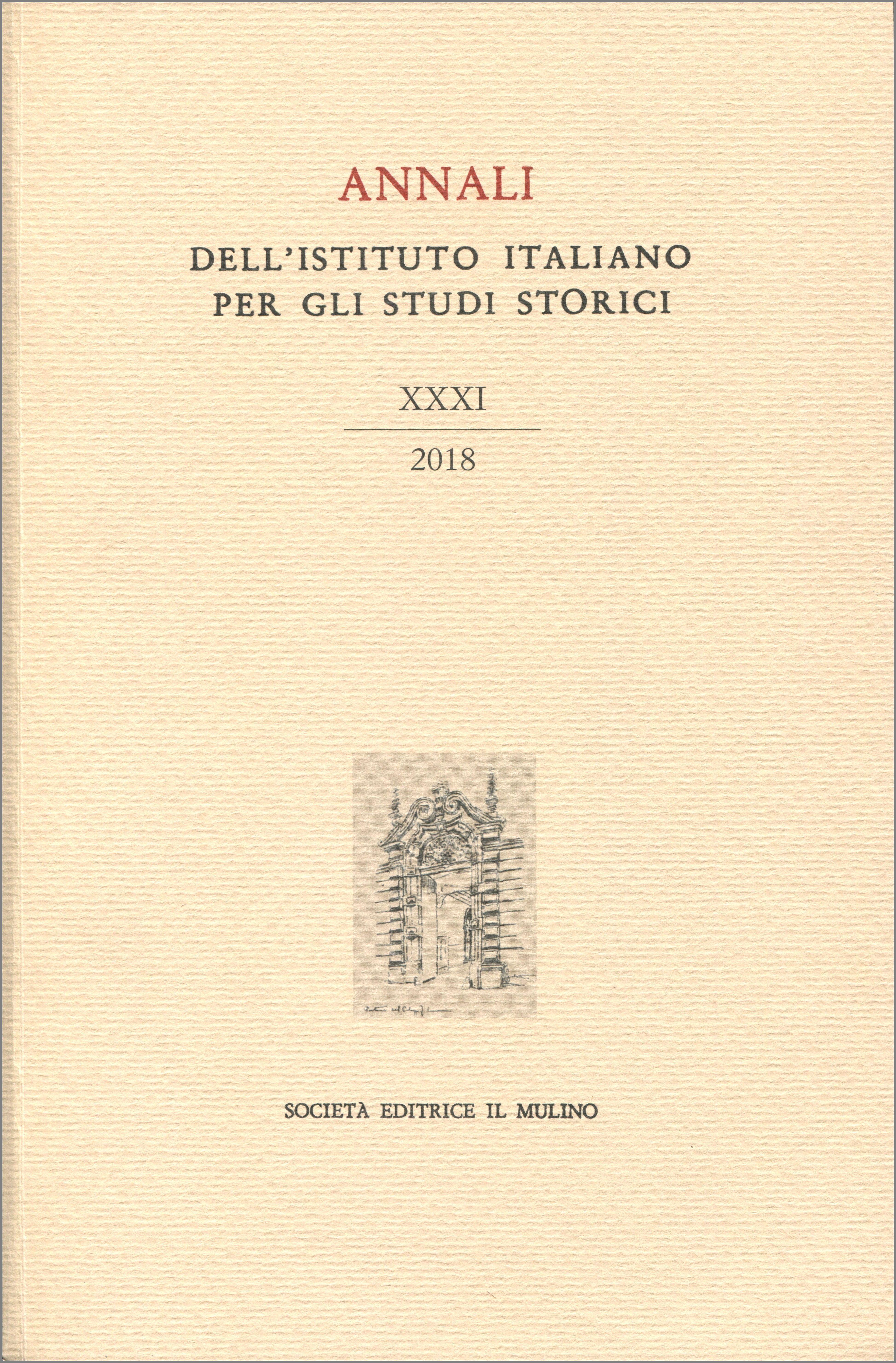"""Il XXXI volume degli """"Annali"""" dell'Istituto"""