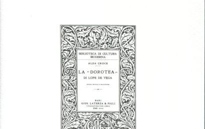 L'impegno letterario di Alda Croce
