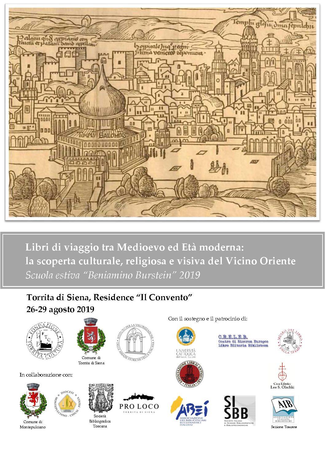 "Scuola estiva""Beniamino Burstein"" 2019 – Torrita di Siena"