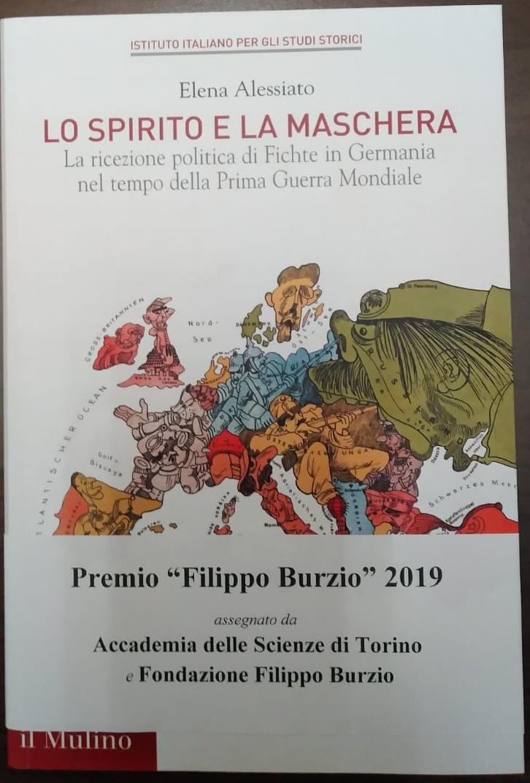 Premio Filippo Burzio 2019