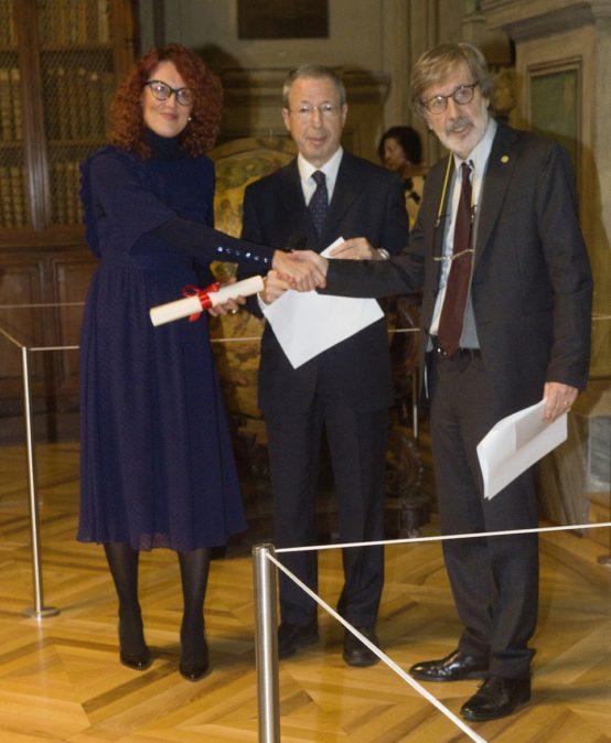 Premio Filippo Burzio 2019 consegnato ad  Elena Alessiato – Novembre 2019 – Accademia delle Scienze di Torino